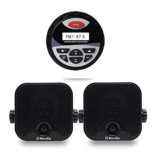 Herdio ReceiverSpeaker Package Bluetooth