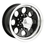 Ion Alloy 171 Black Wheel with Machined Lip (18x9