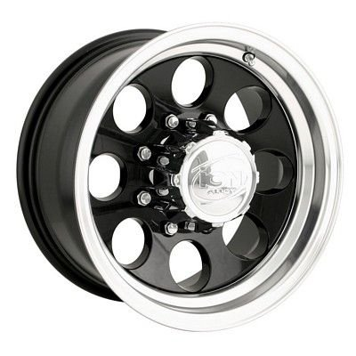 Ion Alloy 171 Black Wheel