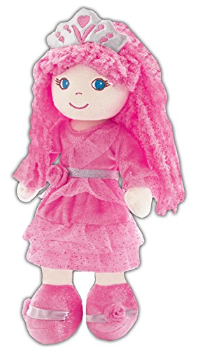 Easter Soft Doll - girlzndollz Leila Pink Princess Baby Doll, Pink