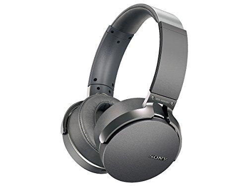 Sony MDR-XB950BT/H Extra Bass Bluetooth Headset (Gray)