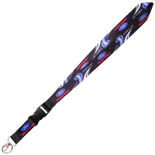 Sublimated Lanyard - Ford Racing Cobra Jet Sublimated Lanyard/Keychain By B Elite Designs -BDFMSL198