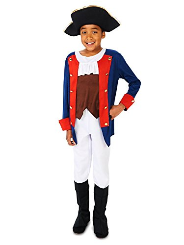 Patriot Soldier Boy Child Costume, Multicolor, S (4-6)]()