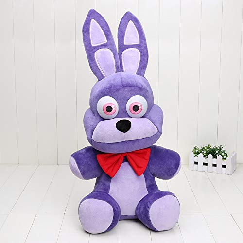 papeo FNAF Plushies 16 inch Big Plush Figure Toy Huggable Large Stuffed Toys Doll Gift Christmas Halloween Birthday Gifts Cute Collection Collectible Fazbear for Kids Adults]()