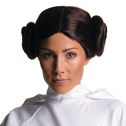 Fun Express - Rb Adult Princess Leia Wig for Halloween - Apparel Accessories - Costume Accessories - Wigs & Beards - Halloween - 1 Piece]()
