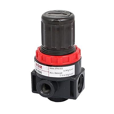 uxcell Pneumatic Source Treatment Air Filter Pressure Regulator 0.5-9Kgf/cm2