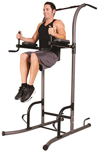 Body Champ VKR1010 Fitness Multi function Power Tower / Multi station for Home Office Gym Dip Stands Pull Up Push up VKR