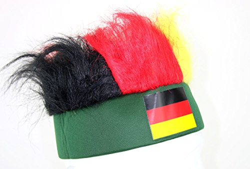 "Germany Oktoberfest World Cup Party Hat - ""HAIR"""