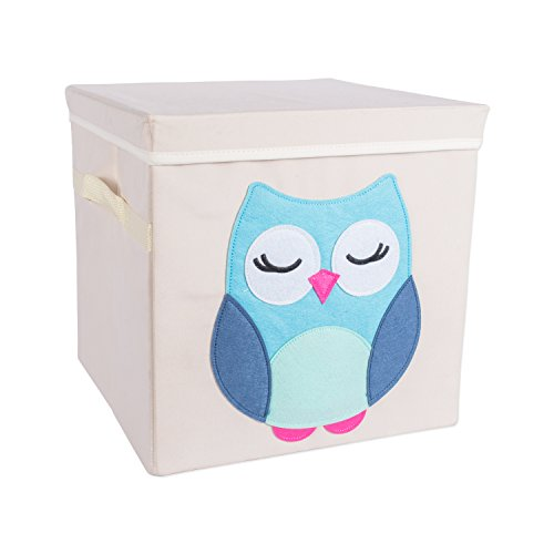 storage bins for kids with lids - 1