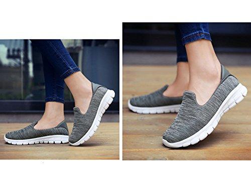 a per passeggio donna sportive per sportive tacco zeppa donna donna da da Scarpe con SHINIK da scarpe per Scarpe corsa da C di Scarpe passeggio colore nw0p1qfOZ