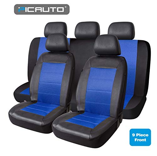 blue car seat covers for suv - 7