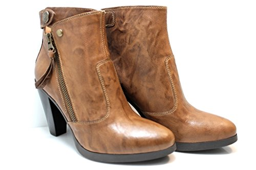 Nero Giardini - Botas de Piel para mujer marrón
