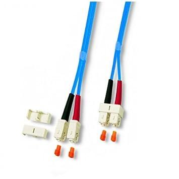 Neklan 2071262 - Cable de fibra óptica dúplex multimodo (50 ...