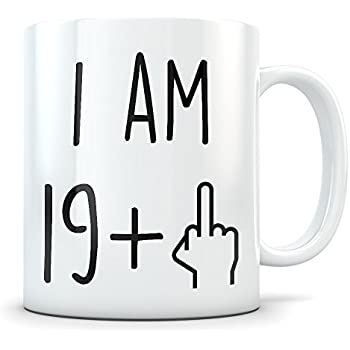 Funny 20th Birthday Gift For Women And Men Turning 20 Years Old Happy Bday Coffee Mug Gag Party Cup Idea As A Joke Celebration Best Twenty Adult