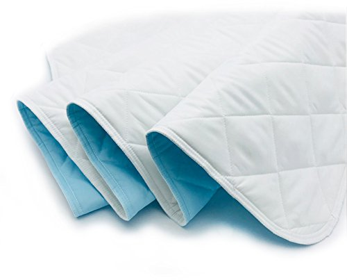 KANECH Bed Pads for Incontinence Washable - 44 x 52 Inches - Extra 5 Layer - Waterproof Pads for Adult,Children,Pets