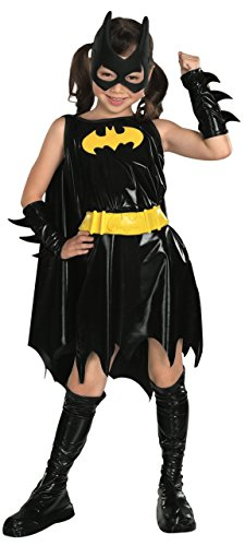 Create A Halloween Costumes (DC Super Heroes Child's Batgirl Costume, Medium)