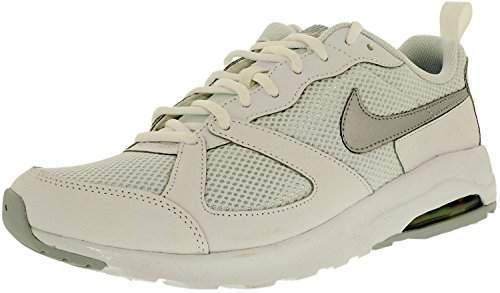 Nike Womens Air Max Muse White/Metallic Platinum Low Top ...