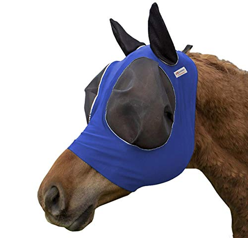 Derby Originals Reflective Bug Eye Lycra Fly Mask with One Year Warranty by Derby Originals