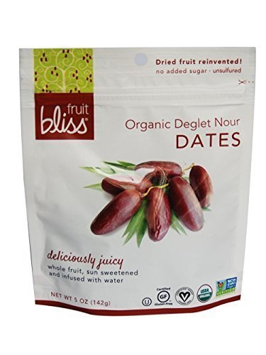 Fruit Bliss Organic Deglet Nour Dates, 5 Ounce - 6 per case.
