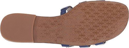 Blue Bay Slide Edelman Nautical Sam Patent Sandal Women's PEatwWqY