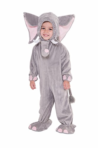 Forum Novelties Baby Boy's Plush Cuddlee Elephant Costume, Multi, Toddler -