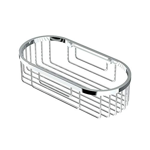 Gatco 1576 Oval Soap Basket, Chrome