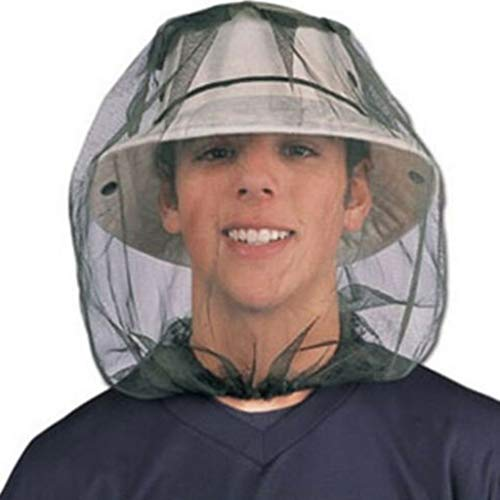 - Finedayqi  Outdoor Head Face Protector Hat Cap for Bee Insect Mosquito Net Mesh Headgear