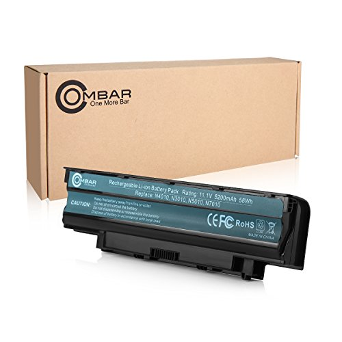 Ombar-New-Laptop-Battery-for-Dell-J1KND-4T7JN-15r-17r-14r-13r-Dell-Inspiron-N5110-N-5010-N5030-N5040-N5050-N7010-N7110-N4010-N4110-M5030-M5010-M5110-12-Months-Warranty-Li-ion-6-Cell