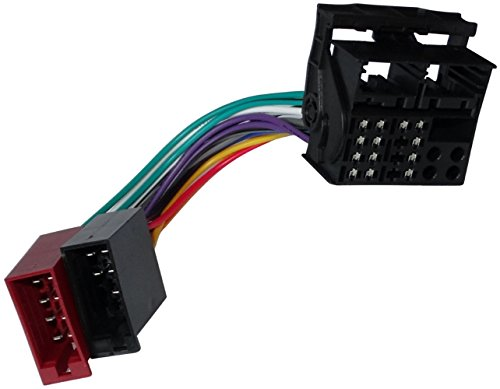 Aerzetix: ISO Car Radio Cable Adapter, Wire Harness Connector: