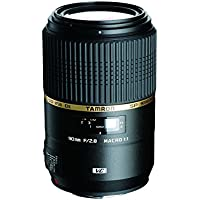 Tamron AFF004N700 SP 90MM F/2.8 DI MACRO 1:1 VC USD For Nikon 90mm IS Macro Lens for Nikon (FX) Cameras - Fixed (International Model) No Warranty