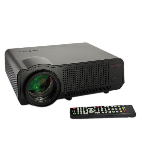 DBPOWER Projector Multimedia Compatible CinemaUPC