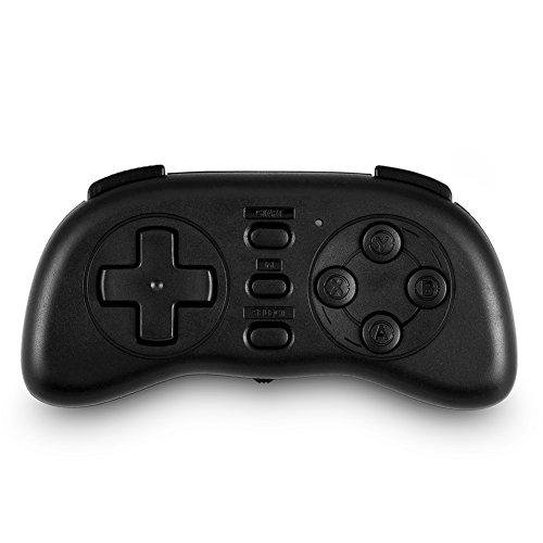 Fosa Wireless Retro Bluetooth Game Controller, Universal Mini Gamepad Handle Joystick Gaming Controller Remote for iOS...
