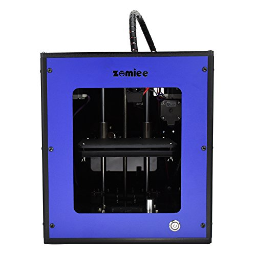 Zomiee Mini 3D Printer with Power Outage Memory Function, Aluminium Structures, Blue by Zomiee