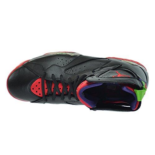 Retro EU Herren black 5 red Nike university green pulse Turnschuhe Jordan cool Schwarz grey 48 7 Air wgdzqdxIU