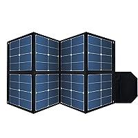 Foldable 100W Solar Panel, Waterproof Po...
