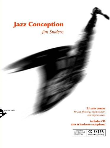 - Advance Music Jazz Conception for Alto & Baritone Saxophone Book and CD