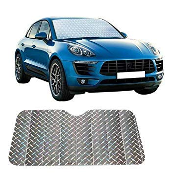 Uniqus SUV Sun Shade Car Windshield Visor Cover Block Front Window Sunshade UV Predect, Size  140  75cm