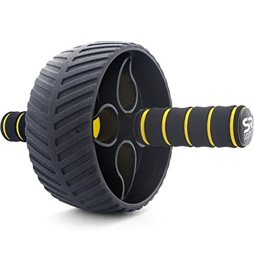 Sweet-Sweat-Portable-Ab-Roller-Abdominal-Exercise-Wheel-for-Core-Strength-Training-with-Knee-Pad-and-free-Sweet-Sweat-Gel-Sample