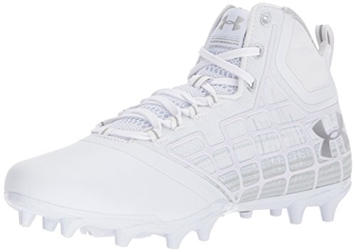 Under Armour Men's Banshee Mid MC Lacrosse Shoe