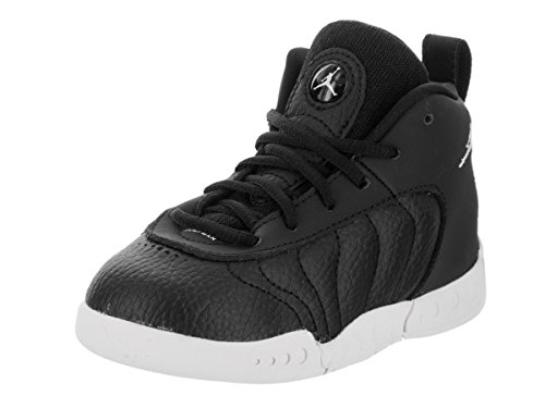 Jumpman Pro BT Black/White Basketball Shoe 4 Infants US ()