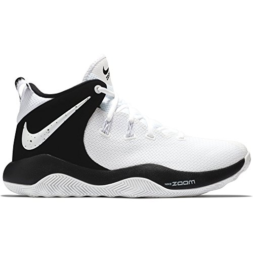 84d49914bc9 Nike Men s Zoom Rev II Basketball Shoe White Black Size 8.5 M US