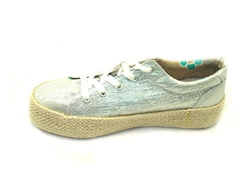 Sneakers 204 Argento ARTKDH903 Argento CafèNoir OYgqH8W4W