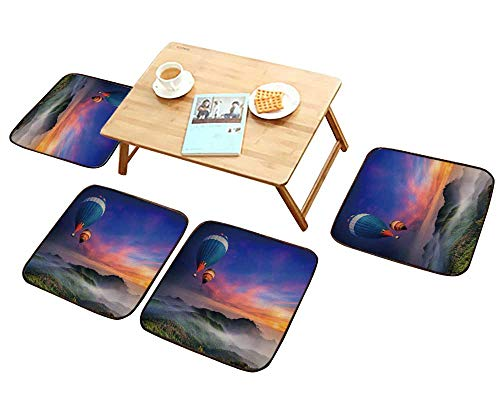 Lounge Chair Raffia - HuaWu-home Luxurious Household Cushions Chairs DOI Inthanon National Park in The Sunrise and Main Road at Chiang Mai Province Thailand Soft and Comfortable W31.5 x L31.5/4PCS Set