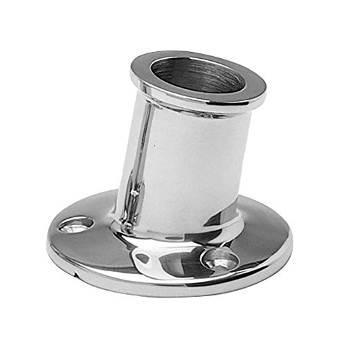 Taylor Made Products 965 Top Mount Boat Flag Pole Socket (1-Inch) (Renewed)