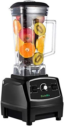 Countertop Blender Professional Commercial Mixer Blender 70oz with 2200 Watt Base Total Crushing Technology for Smoothies, Ice and Frozen Fruit Black