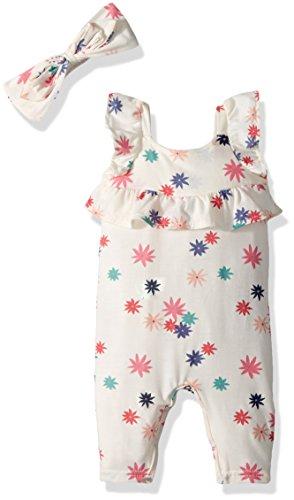 Jessica Pant Suit - Jessica Simpson Baby Girls Jumpsuit, Sunburst Floral Sunburst Floral, 6-9 Months