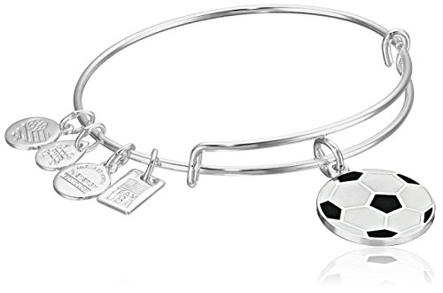 Alex and Ani Women's Team USA Soccer Bangle Shiny Silver One -