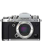 Fujifilm Mirrorless Camera,26.2 MP,No Zoom Optical Zoom and 3 Inch Screen - X-T3