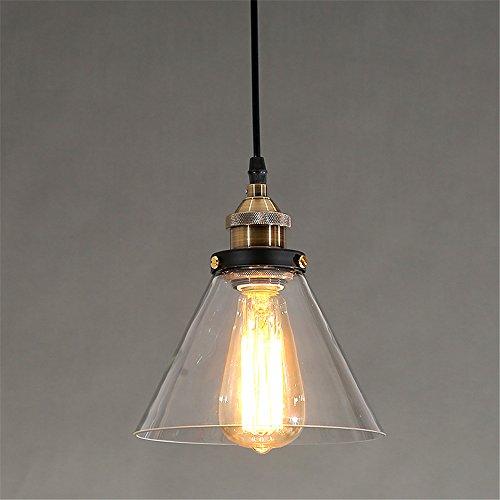 Glass Pendant Light For Kitchen Island Dining Room Modern