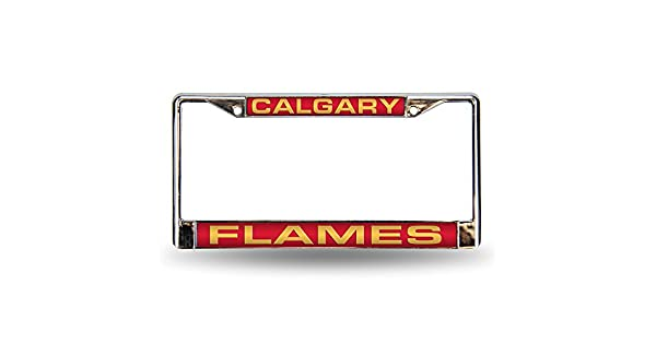 NHL Laser Chrome Plate Frame Rico Industries FCL7601